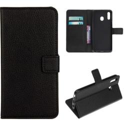 Plånboksfodral Samsung Galaxy A40 - Svart Svart