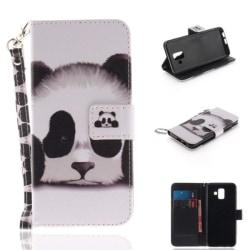Plånboksfodral Samsung Galaxy A6 (2018) – Panda