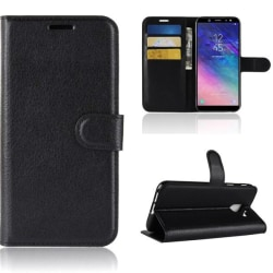 Plånboksfodral Samsung Galaxy A6 (2018) - Svart Svart
