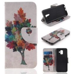 Plånboksfodral Samsung Galaxy A6 (2018) – Träd