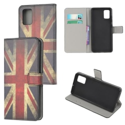 Plånboksfodral Samsung Galaxy A71 - Flagga UK