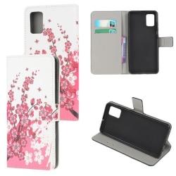 Plånboksfodral Samsung Galaxy A71 - Körsbärsblommor