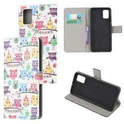 Plånboksfodral Samsung Galaxy A71 - Ugglor På Kalas