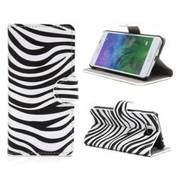 Plånboksfodral Samsung Galaxy Alpha (G850F) - Zebra
