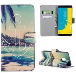Plånboksfodral Samsung Galaxy J6 (2018) - Ankare