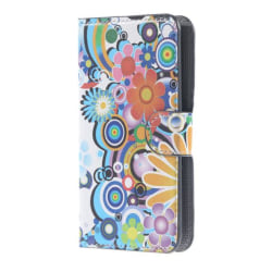 Plånboksfodral Samsung Galaxy Note 4 (SM-N910F) - Blommor