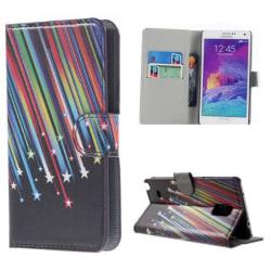 Plånboksfodral Samsung Galaxy Note 4 - Stjärnfall