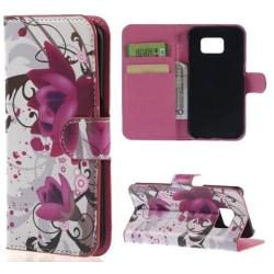 Plånboksfodral Samsung Galaxy S6 Edge Plus – Lotus