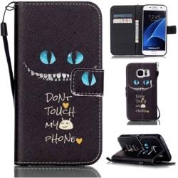 Plånboksfodral Samsung Galaxy S7 - Don't Touch My Phone