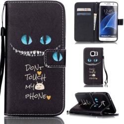 Plånboksfodral Samsung Galaxy S7 Edge - Don't Touch My Phone