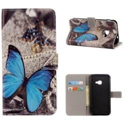 Plånboksfodral Samsung Xcover 4 / 4s – Blå Fjäril