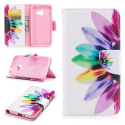 Plånboksfodral Samsung Xcover 4 / 4s – Färgglad Blomma
