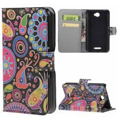 Plånboksfodral Sony Xperia E4 - Jellyfish