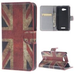 Plånboksfodral Sony Xperia E4g - Flagga UK