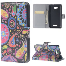 Plånboksfodral Sony Xperia E4g - Jellyfish
