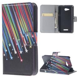 Plånboksfodral Sony Xperia E4g - Stjärnfall