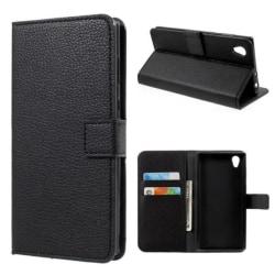 Plånboksfodral Sony Xperia L1 - Svart Svart