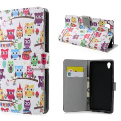 Plånboksfodral Sony Xperia L1 – Ugglor På Kalas