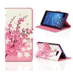 Plånboksfodral Sony Xperia M2 - Körsbärsblommor / Cherry Tree