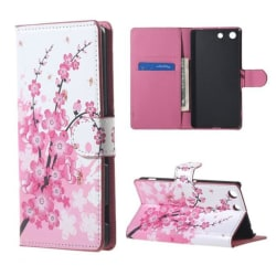 Plånboksfodral Sony Xperia M5 - Körsbärsblommor