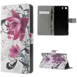 Plånboksfodral Sony Xperia M5 – Lotus