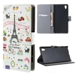 Plånboksfodral Sony Xperia X - Paris