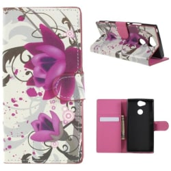 Plånboksfodral Sony Xperia XA2 - Lotus