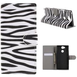 Plånboksfodral Sony Xperia XA2 - Zebra