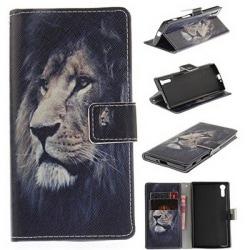 Plånboksfodral Sony Xperia XZ och XZs – Lejon