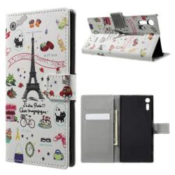 Plånboksfodral Sony Xperia XZ och XZs - Paris