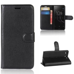 Plånboksfodral Sony Xperia XZ1 Compact - Svart Svart