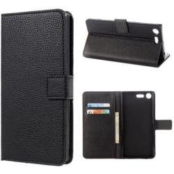 Plånboksfodral Sony Xperia XZ1 - Svart Svart