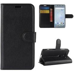 Plånboksfodral Sony Xperia XZ2 Compact - Svart Svart