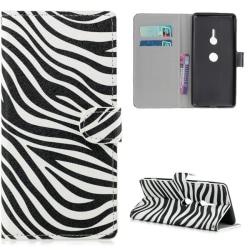 Plånboksfodral Sony Xperia XZ3 - Zebra