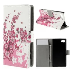 Plånboksfodral Sony Xperia Z5 Compact - Körsbärsblommor