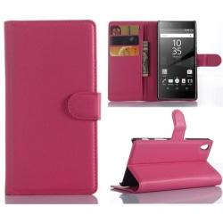 Plånboksfodral Sony Xperia Z5 - Rosa