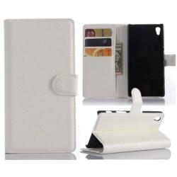 Plånboksfodral Sony Xperia Z5 - Vit