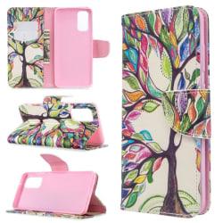 Plånboksfodral Xiaomi Mi 10T Pro – Färgglatt Träd