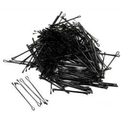 Hårnålar svarta 60-pack