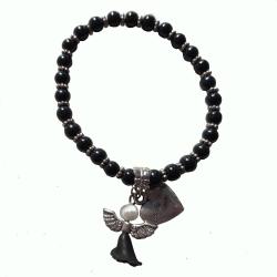 Pärlarmband med ängel