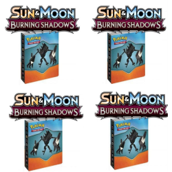 4 stycken collectors  mini album  sun and moon burning shadows