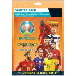 Fotbollskort Zlatan startpaket euro 2020, 2021 kick off