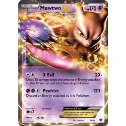 Pokemon jumbokort Mewtwo EX