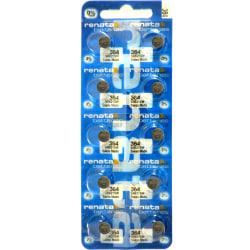 364 10-Pack SR621SW RENATA Klockbatterier silveroxid 1.55V