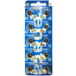371 10-Pack SR920SW RENATA Klockbatterier silveroxid 1.55V
