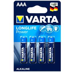 AAA 4-Pack VARTA LLP Alk. 1,5V