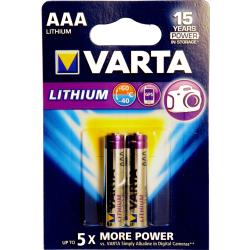 AAA Litium 2--Pack VARTA 1,5V