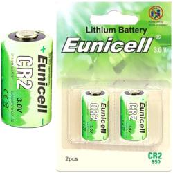CR2 Eunicell 2-Pack Litium 3V