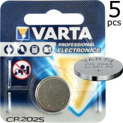 CR2025 5-Pack VARTA Litium 3V