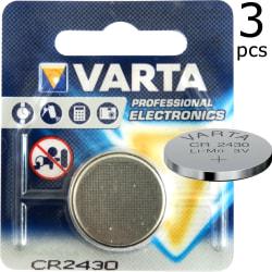 CR2430 3-Pack VARTA Litium 3V
